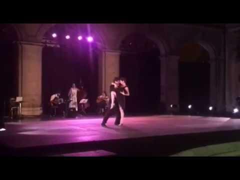 Claudio Blanc et Valentine Iten Tango Genève 24 juin 2017 Fête de la Musique