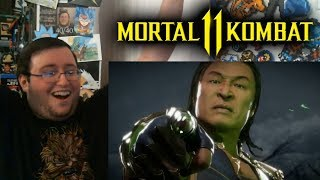 "Gors ""Mortal Kombat 11"" Shang Tsung Gameplay & Kombat Pack Trailer REACTION"