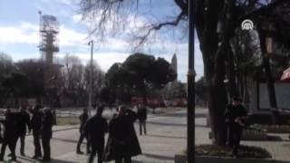 """تركيا.. انفجار يهز منطقة """"السلطان أحمد"""" في إسطنبول"""