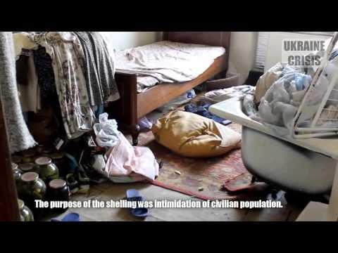Ukraine Crisis. Death and destruction continues in Eastern Ukraine. English subtitles!