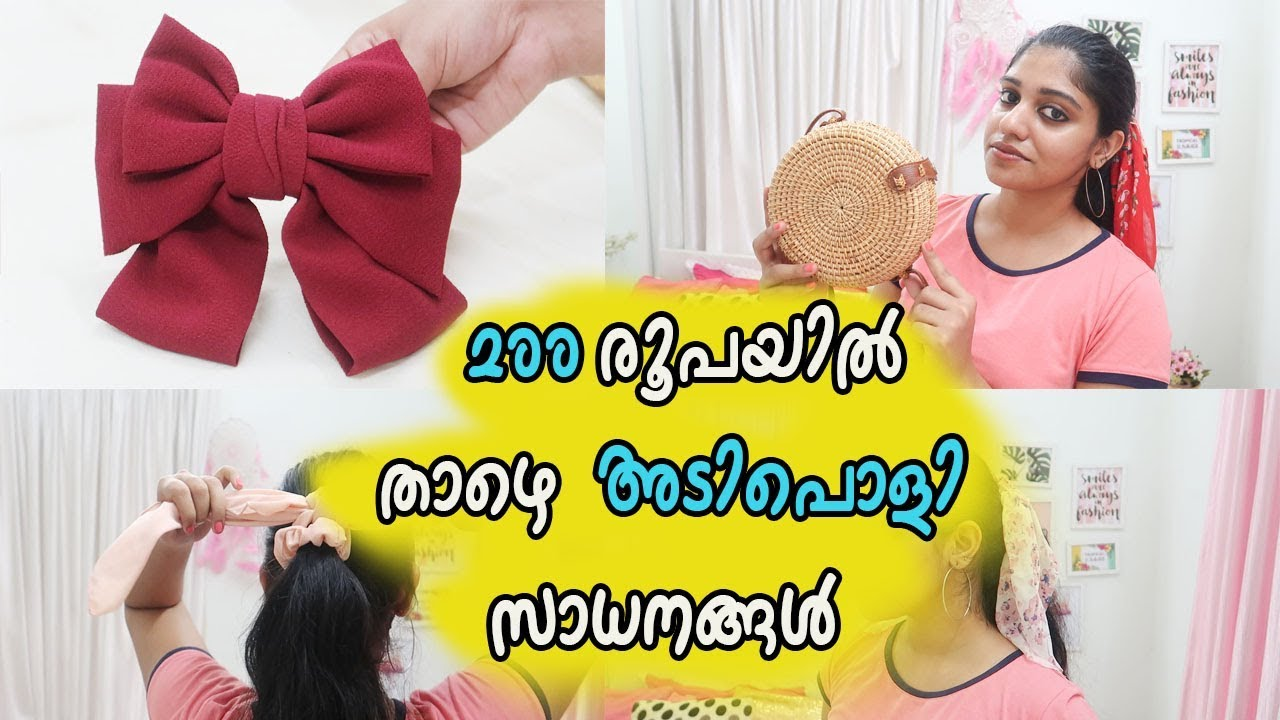 Aliexpress accessories haul under RS 200 || affordable price|| haul 2019 || malayalam youtuber