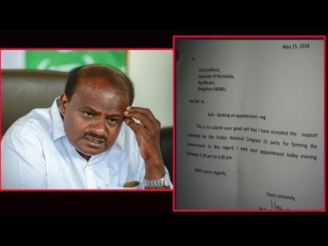 Congress approaches JD(S) to form govt, offers CM post to Kumaraswamy