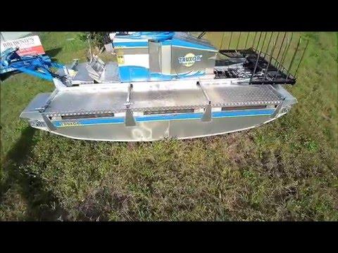 pond cleaning machine