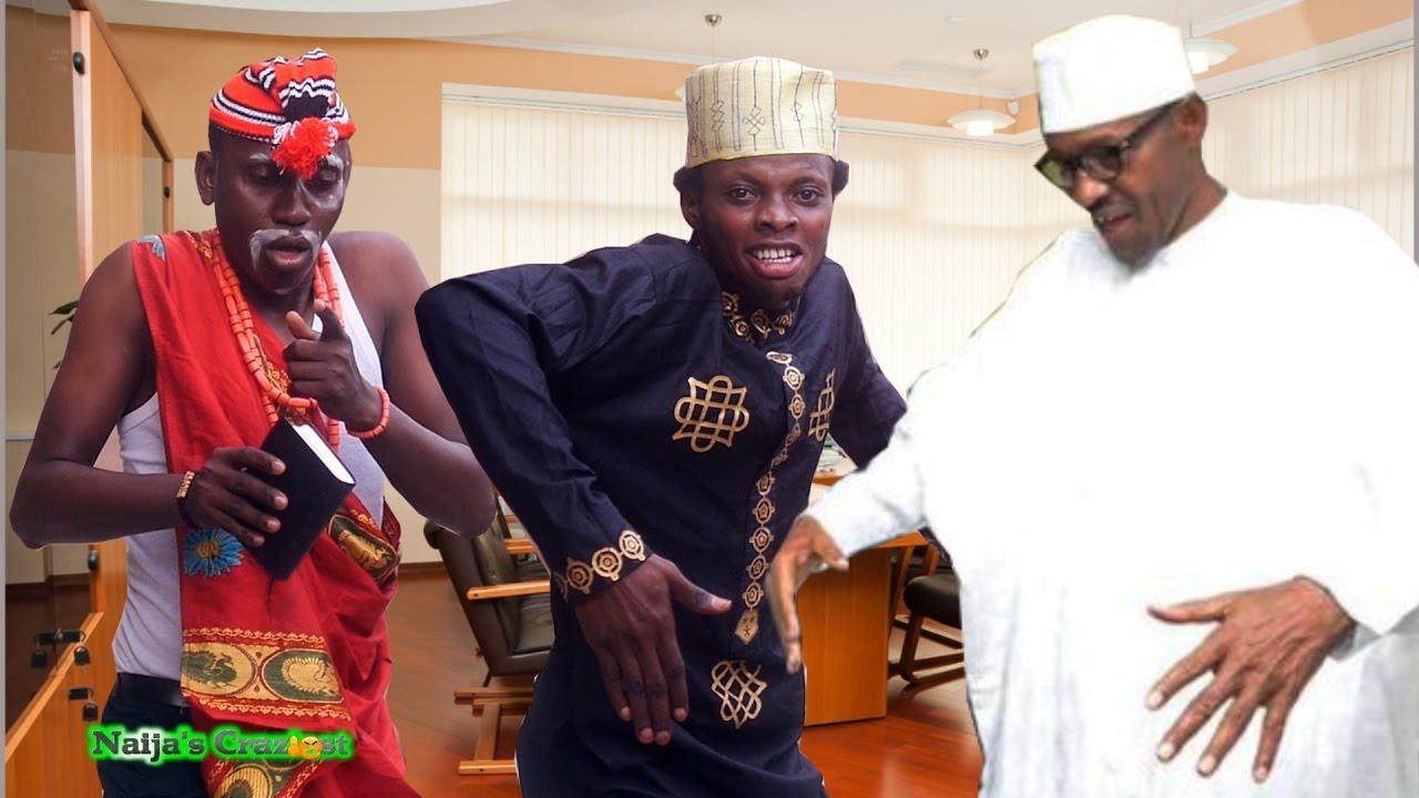 Download President Buhari Dances with Danladi & Ezemo to Celebrate Independence