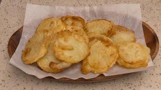 감자튀김 만들기::초간단요리::감자부침