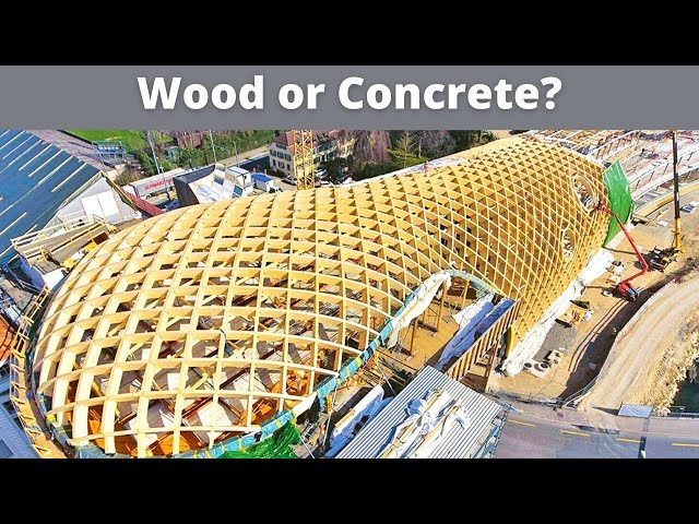 Building with Concrete vs. Wood - Which is Safer?