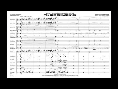 You Keep Me Hangin' On arranged by Tim Waters