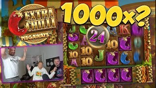 BIG WIN!!! Extra Chilli Big win - 1000x??? - Casino Games - free spins (Online Casino)