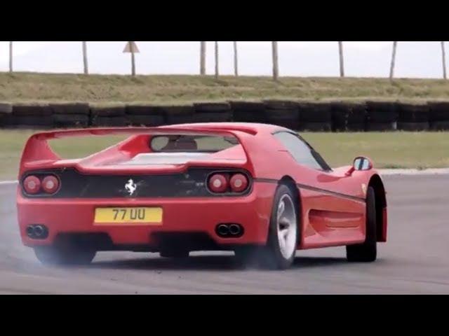 The Ferrari F50 Was The Last F1 Engined Road Car