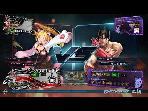Lucky Chloe vs Jin Kazama - Tekken 7 |...