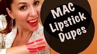 MAC Lipstick Dupes - Inexpensive Thumbnail