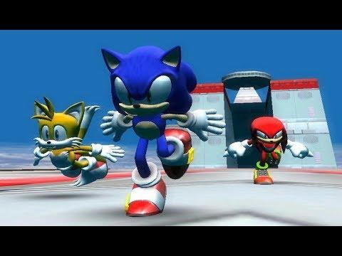 Sonic World R9 - Egg Fleet Zone
