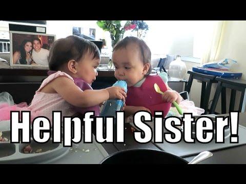 Helpful Sister!!! - May 18, 2015 -  ItsJudysLife Vlogs
