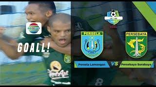 LIGA 1: Persela Lamongan (1) vs (1) Persebaya Surabaya | Go-Jek LIGA 1 bersama Bukalapak