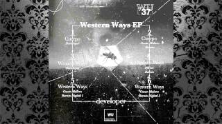 Developer - Western Ways (Pfirter Remix) [WARM UP RECORDINGS]
