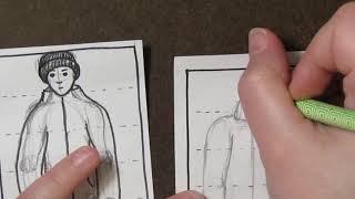 3rd Grade Mushers - Drawing a Human: Part 3 CLOTHES!