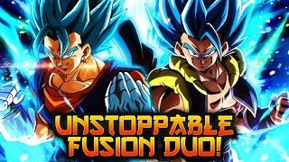 THE DEADLIEST DUO HAVE FINALLY ARRIVED! DOUBLE SSB FUSIONS DECIMATE! | Dragon Ball Legends PvP