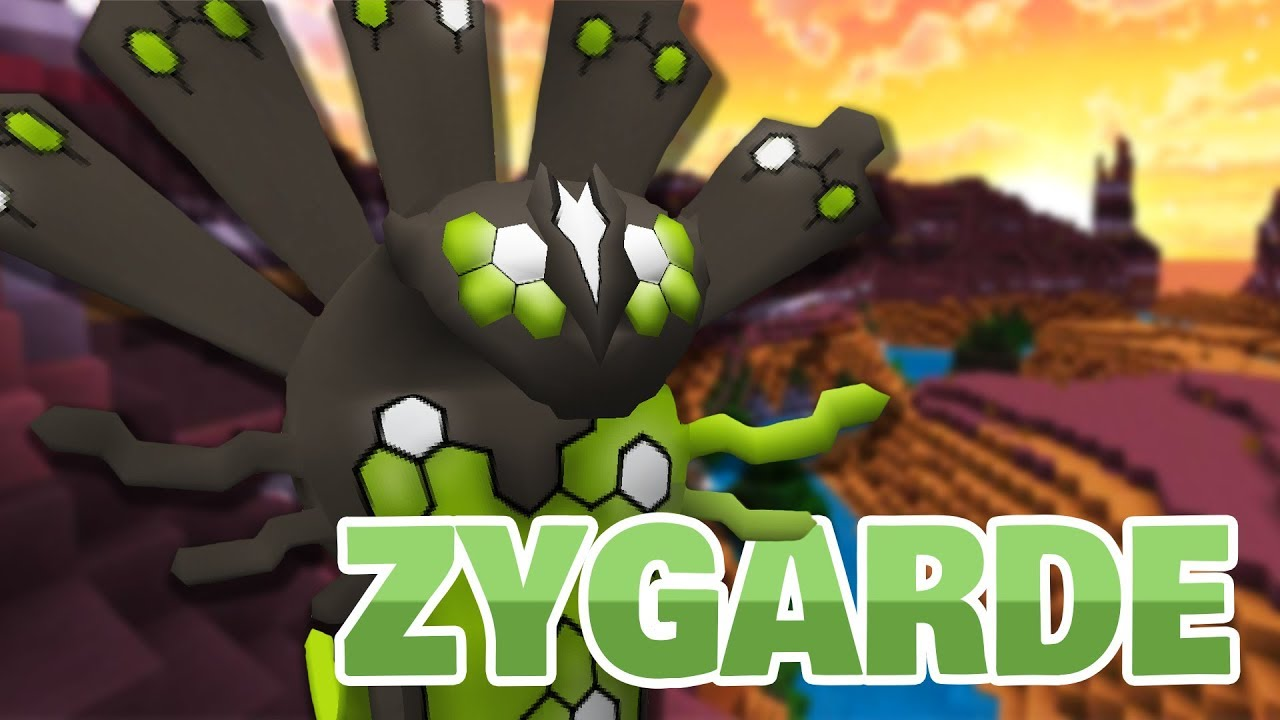 How to Catch Legendary ZYGARDE! (Complete Form Update Coming Soon?)    Pixelmon Reforged