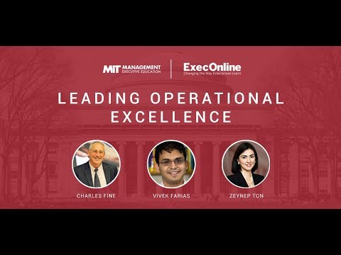 Leading Operational Excellence Introduction | ExecOnline