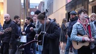 DCT Buskers impromptu jam (part 3) Shallow