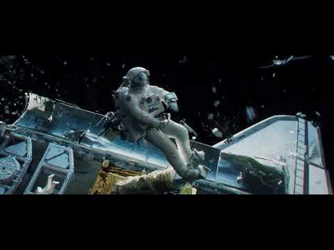 Space Junk hits the Hubble Telescope Service Crew - Gravity 2013