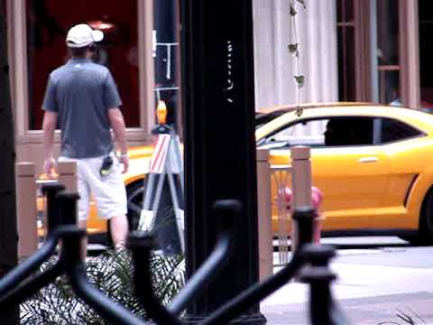 Transformers 3 Chicago - Autobots and Stunticons (pt 1)