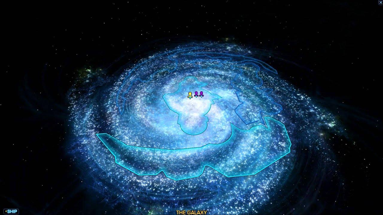 SWTOR Republic Galaxy Map Music HD