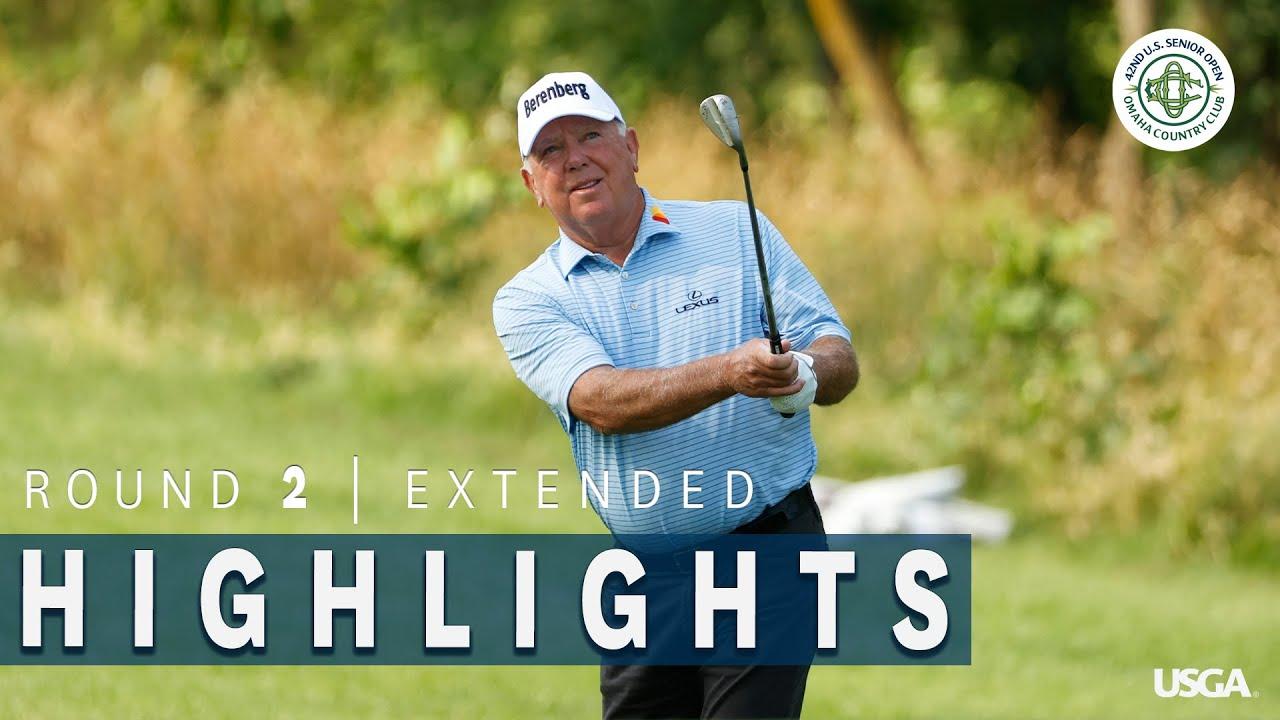 2021 U.S. Senior Open Highlights: Round 2, Extended