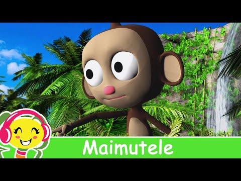 Maimutele - Cantece Pentru Copii - CanteceGradinita.ro