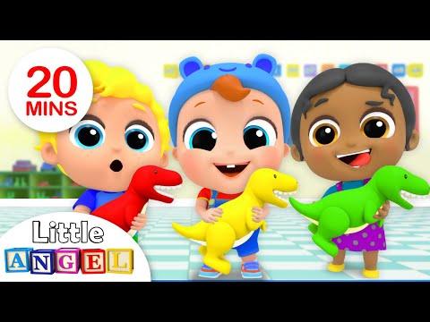 Playtime with New School Friends | Preschool Friends Song | Nursery Rhymes by Little Angel
