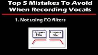 Download Vocal Recording Mistakes To Avoid - Part 1 MP3 song and Music Video