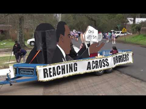 Brewton Alabama Christmas Parade 2020 TRM Tiger Marching Band   YouTube
