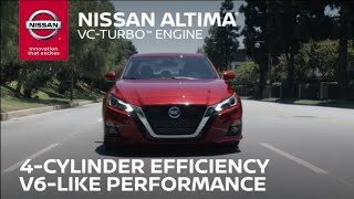 homepage tile video photo for 2019 Nissan Altima VC-Turbo Engine Overview