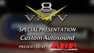 Custom Autosound Feature Video at SEMA 2015 V8TV