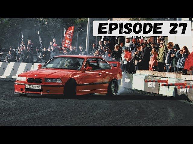 Episode 27 - Закрытие сезона RacePort. Первый крэш BMW.