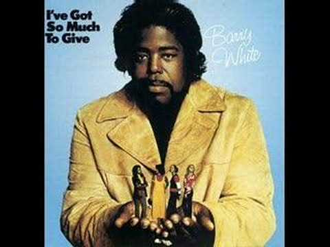 Barry White - Bring back my yesterday 1972 (cover)