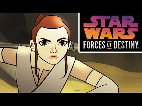 Thumbnail: Star Wars Forces of Destiny First Look | Disney