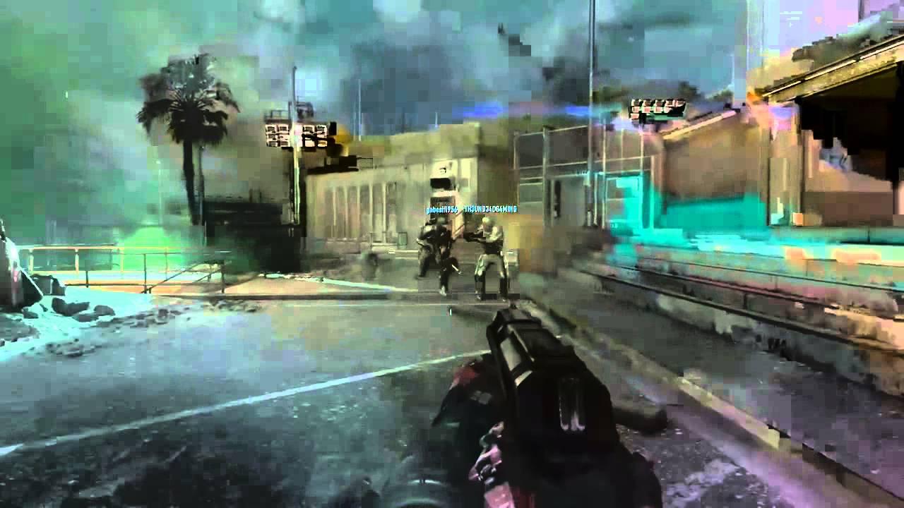 Advanced Warfare Survival Zombie Easter Egg (GIDEON DIES ...