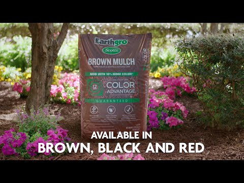 How To Use Earthgro By Scotts Mulch
