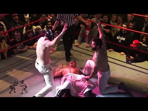 """Massage NV give Milk Chocolate the """"Happy Ending"""" - Beyond Wrestling #ByPopularDemand (CZW, NYWC)"""