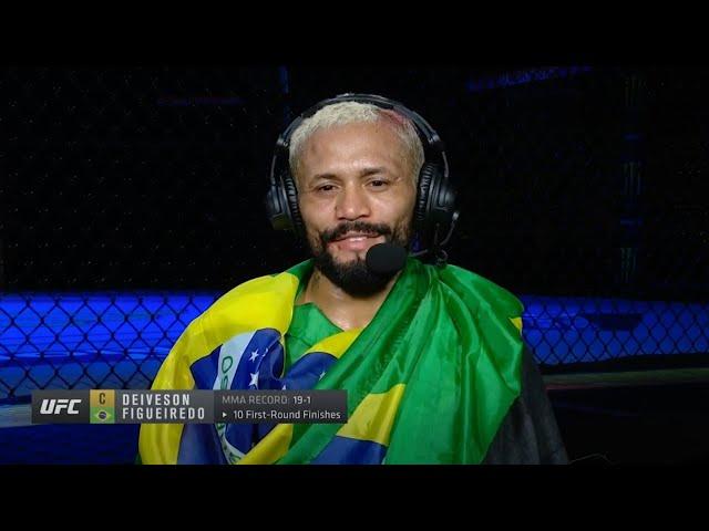 UFC Fight Island 2: Entrevista com o campeão Deiveson Figueiredo - UFC BRASIL