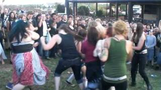 Mayhem Fest 2009 All Girl Mosh Pit 7-26-09