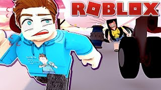 We Must Hack and Escape the Beast at the AIRPORT! (Roblox)