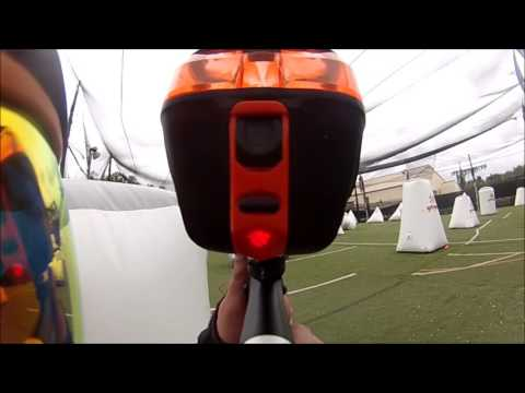 Speedball gameplay with the Empire Mini GS