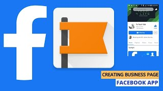How to create Facebook page 2020 | Facebook app