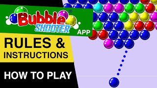 Bubble Shooter FREE Online Game Rules? How to play Bubble Shooter : Bubble Shooter Gameplay screenshot 2