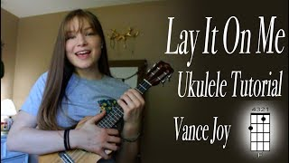 Here is the tutorial for vance joy's song lay it on me! hope this helps you! if you like please leave a thumbs up an maybe little message in comment...