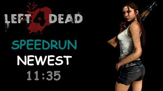 Left 4 Dead Solo Speedrun 11 Minutes No Mercy World Record