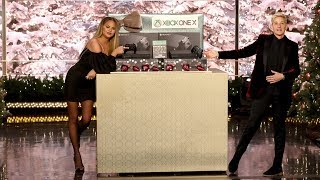 Chrissy Teigen and Ellen Gift the Audience an Exotic Trip!