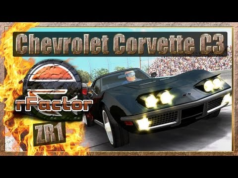 Chevrolet Corvette C3 ZR1 - Watkins Glen GP [rFactor] [HD+]